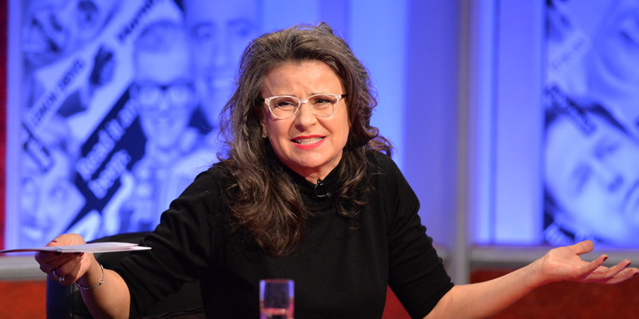Have I Got News For You. Tracey Ullman. Copyright: BBC / Hat Trick Productions.