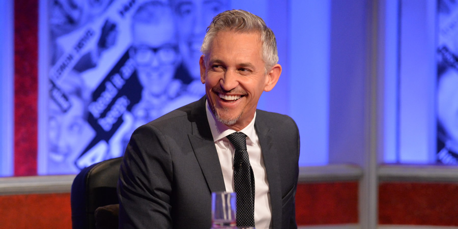 Have I Got News For You. Gary Lineker. Copyright: Hat Trick Productions / BBC.