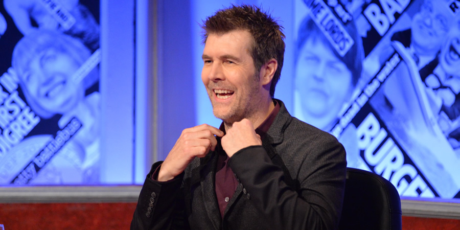 Have I Got News For You. Rhod Gilbert.