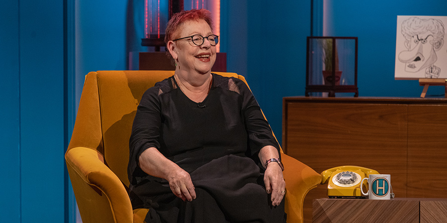 Hypothetical. Jo Brand. Copyright: Hat Trick Productions.