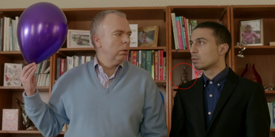 Inside No. 9. Image shows from L to R: Graham (Steve Pemberton), Si (Adam Deacon). Copyright: BBC.