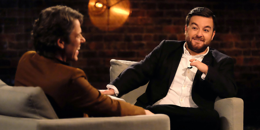 John Bishop In Conversation With.... Alex Brooker. Copyright: Lola Entertainment.