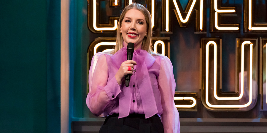 Jonathan Ross' Comedy Club. Katherine Ryan. Copyright: Hot Sauce.