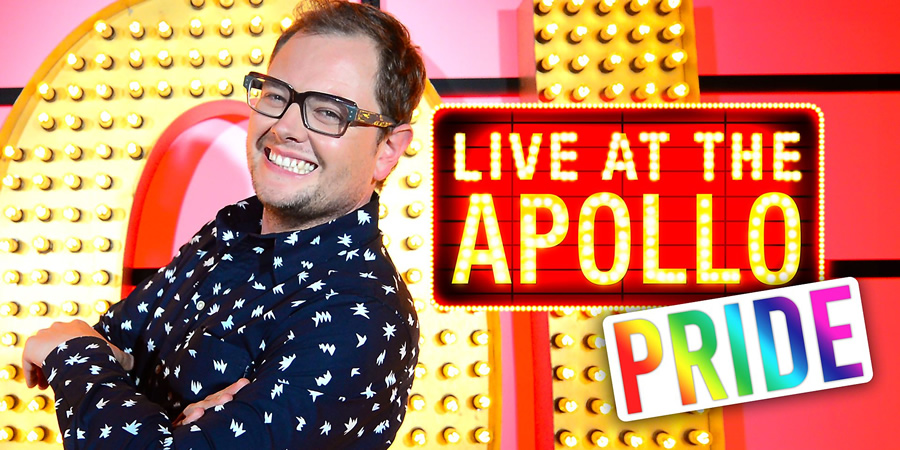 Live At The Apollo. Alan Carr. Copyright: Open Mike Productions.