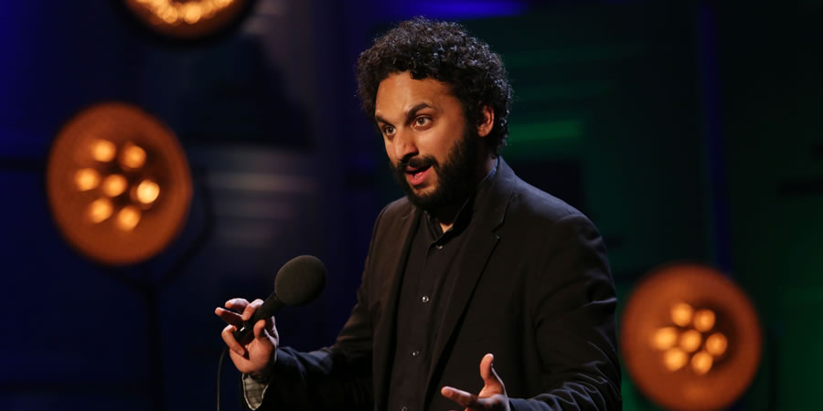 Live From The BBC. Nish Kumar. Copyright: Phil McIntyre Entertainment.