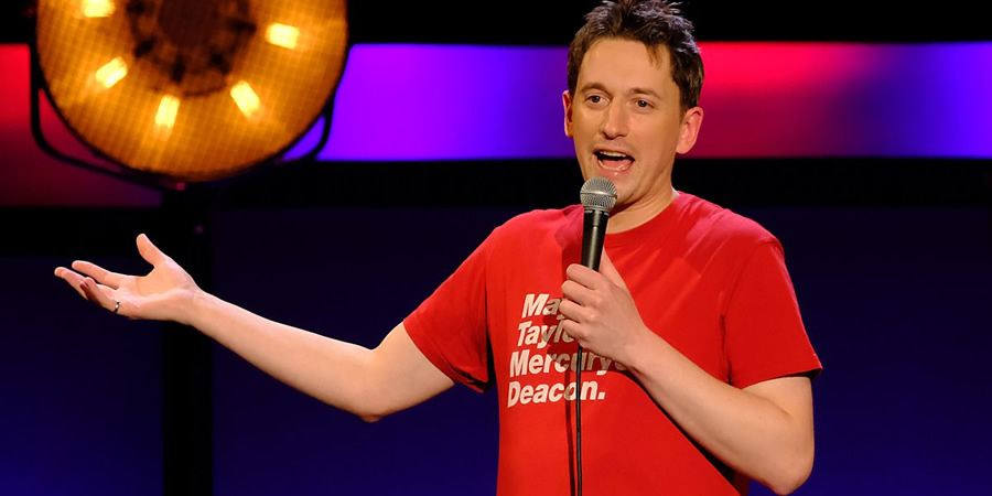 Live From The BBC. John Robins. Copyright: Phil McIntyre Entertainment.