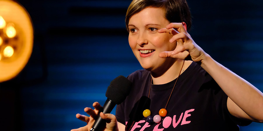 Live From The BBC. Josie Long. Copyright: Phil McIntyre Entertainment.
