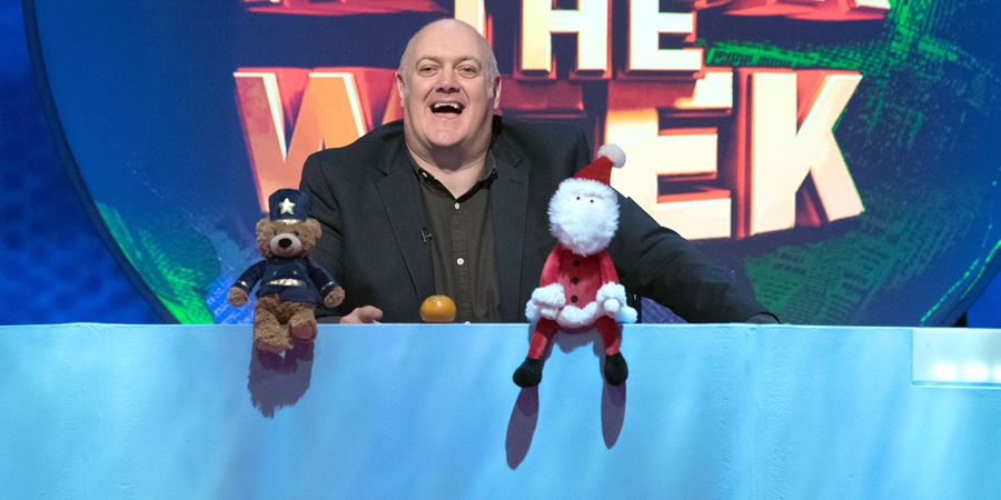 Mock The Week. Dara O Briain. Copyright: Angst Productions.