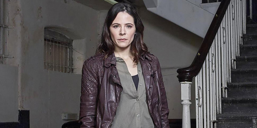 No Offence. D.C. Dinah Kowalska (Elaine Cassidy). Copyright: AbbottVision.