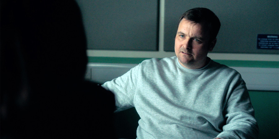 No Offence. Dennis Caddy (Neil Maskell). Copyright: AbbottVision.
