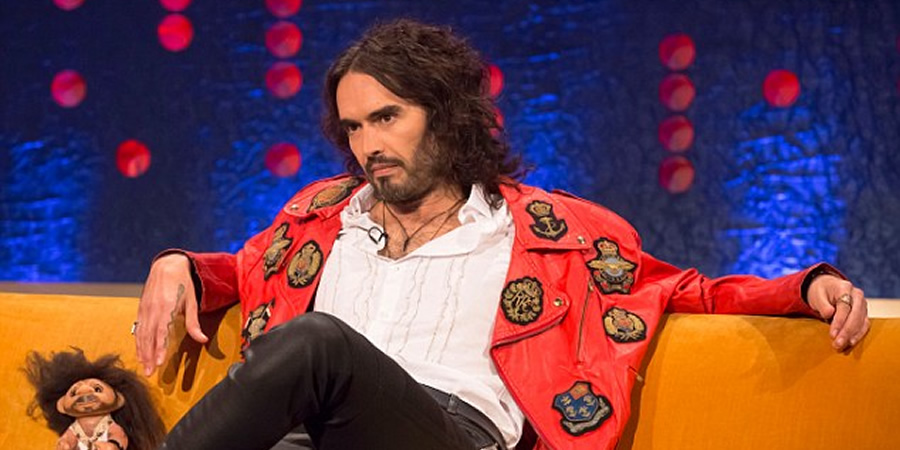 The Jonathan Ross Show. Russell Brand. Copyright: Hot Sauce.