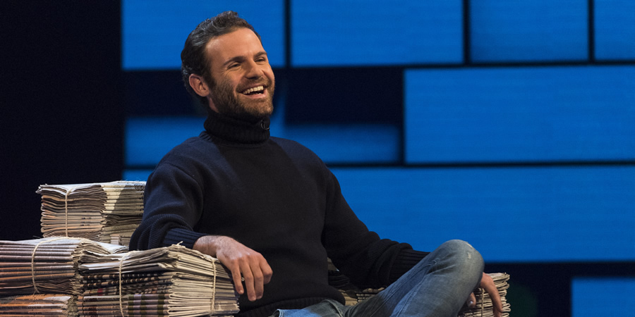 The Russell Howard Hour. Juan Mata. Copyright: Avalon Television.