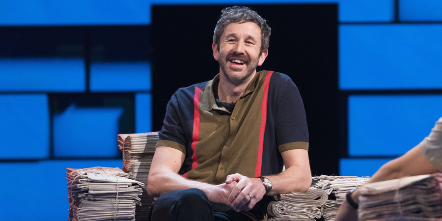 The Russell Howard Hour. Chris O'Dowd. Copyright: Avalon Television.