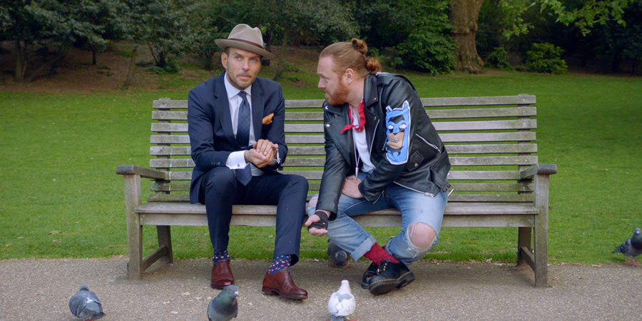 Shopping With Keith Lemon. Image shows from L to R: Matt Goss, Leigh Francis.