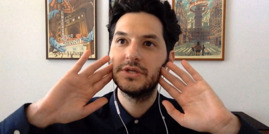 Staged. Tom (Ben Schwartz).
