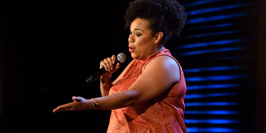 Stand Up Central. Desiree Burch. Copyright: Avalon Television.
