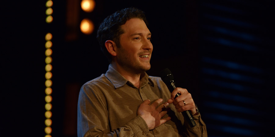 Stand Up Central. Jon Richardson. Copyright: Avalon Television.