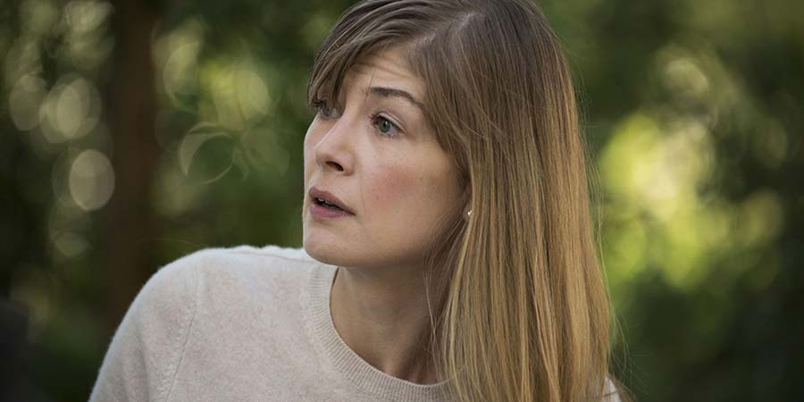 State Of The Union. Louise (Rosamund Pike). Copyright: BBC.
