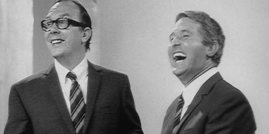 The Morecambe & Wise Show. Image shows from L to R: Eric Morecambe, Ernie Wise. Copyright: BBC.