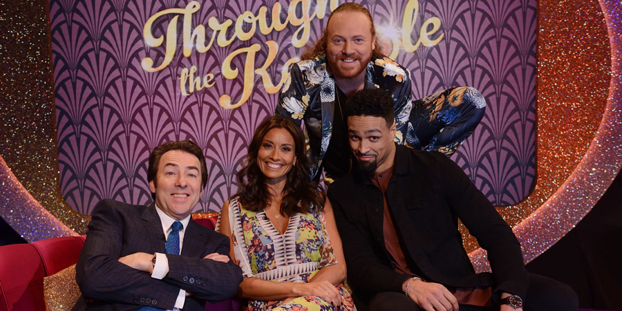 Through The Keyhole. Image shows from L to R: Jonathan Ross, Melanie Sykes, Leigh Francis, Ashley Banjo. Copyright: Talkback.