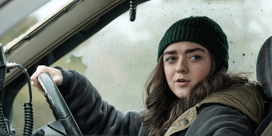 Two Weeks To Live. Kim Noakes (Maisie Williams). Copyright: Kudos Productions.