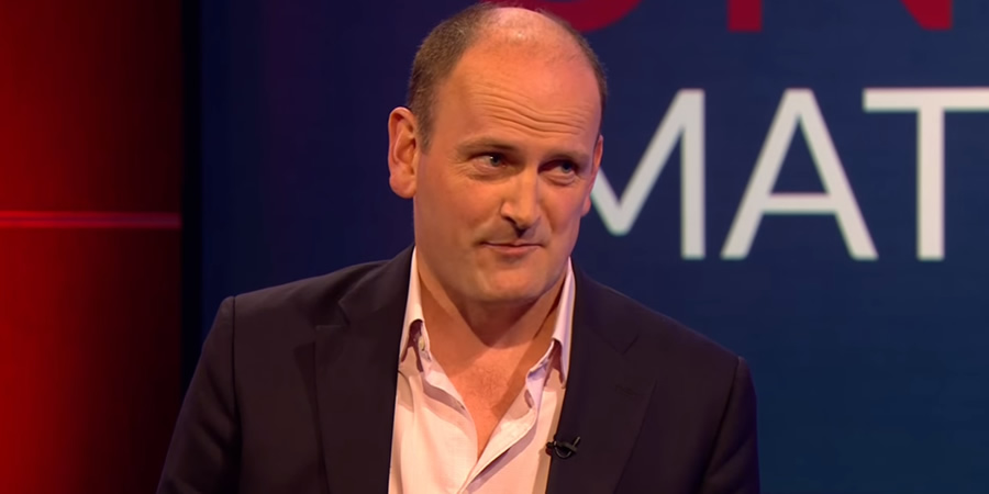 Unspun With Matt Forde. Douglas Carswell. Copyright: Avalon Television.