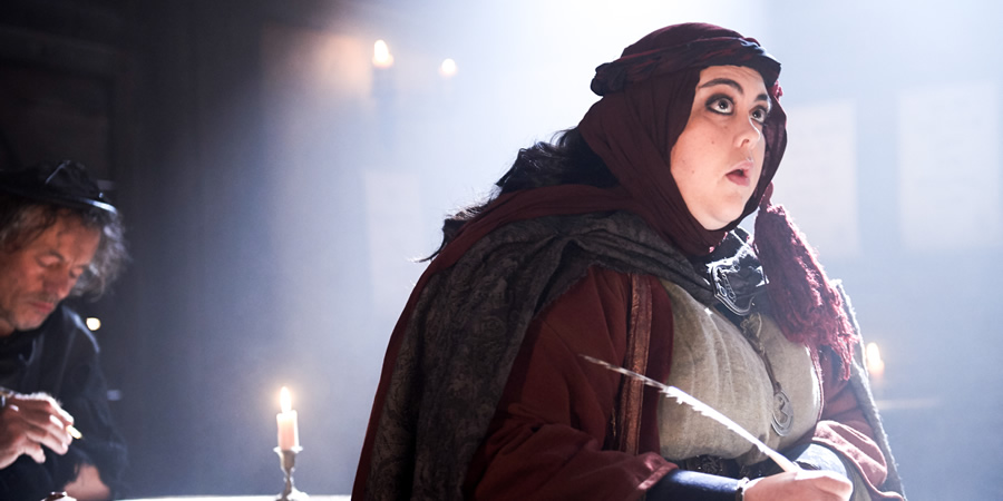 Zapped. Barbara (Sharon Rooney).