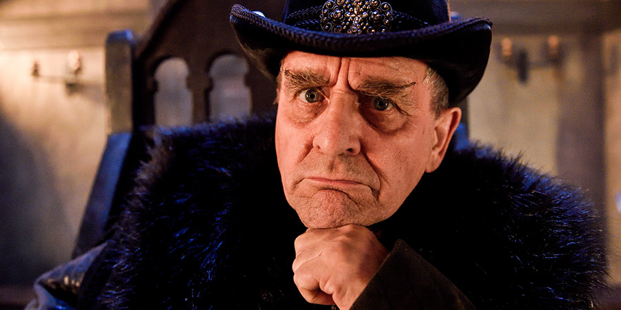 Zapped. Lord Protector (Sylvester McCoy).