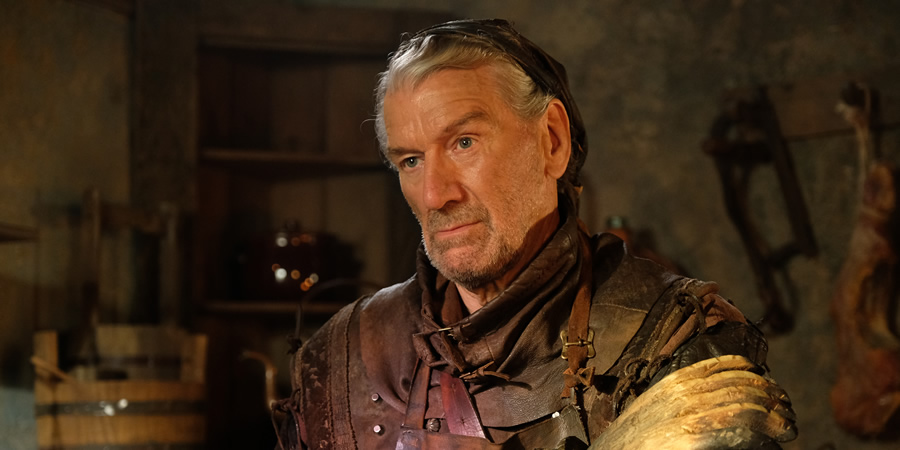 Zapped. Svedd (Clive Russell).
