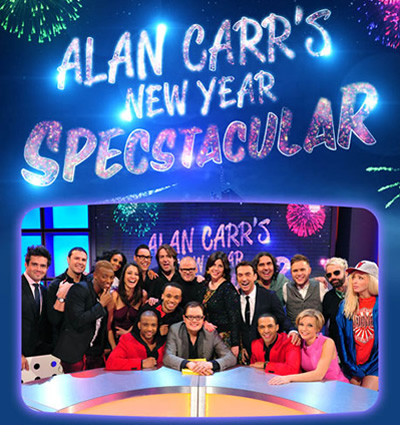 Alan Carr: Chatty Man. Copyright: Open Mike Productions.