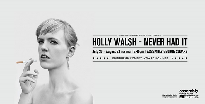 Never Had It. Holly Walsh.