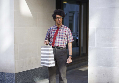 The IT Crowd. Moss (Richard Ayoade). Image credit: TalkbackThames.