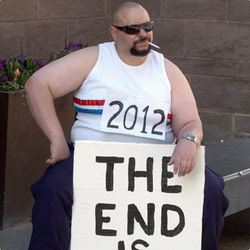 2012 the End of Time (It's Not About the Olympics Honest). Copyright: Yorkshire Television.