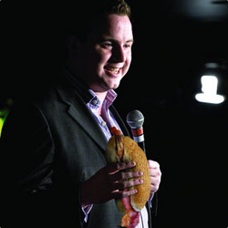 Fordy's Morning Hangover Show. Matt Forde. Copyright: Thames Television / Yorkshire Television.