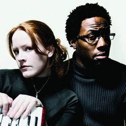 Ginger & Black. Image shows from L to R: Eri Jackson, Daniel Lawrence Taylor.