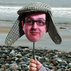 Justin Moorhouse - The Boiled Egg On The Beach. Justin Moorhouse. Copyright: Thames Television.