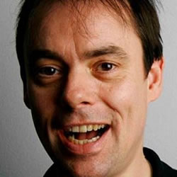 Kevin Eldon is Titting About. Kevin Eldon. Copyright: BBC.