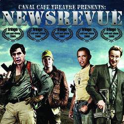 NewsRevue. Copyright: David Paradine Productions / London Weekend Television.