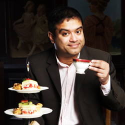 Paul Sinha: 'Extreme Anti-White Vitriol'. Paul Sinha. Copyright: Hat Trick Productions.