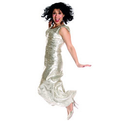 Shappi Khorsandi: The Moon On A Stick. Shappi Khorsandi. Copyright: Associated Television.