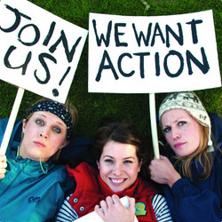 The Boom Jennies: We Want Action. Copyright: Thames Television.