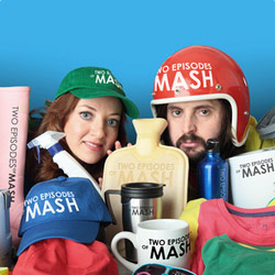 Two Episodes Of MASH: A Sketch Show By These Two People. Image shows from L to R: Diane Morgan, Joe Wilkinson. Copyright: Thames Television.