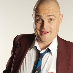 Al Murray the Pub Landlord's Compete for the Meat - Late Night. Al Murray. Copyright: BBC.
