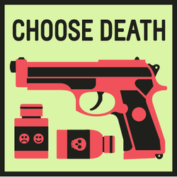 Casual Violence: Choose Death. Copyright: London Weekend Television.