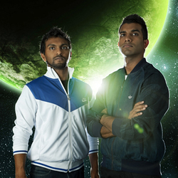 Fear of a Brown Planet. Image shows from L to R: Nazeem Hussain, Aamer Rahman.