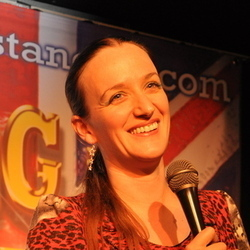 The News at Kate 2011. Kate Smurthwaite. Copyright: BBC.