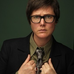 Hannah Gadsby - Mrs Chuckles. Hannah Gadsby. Copyright: Tiger Aspect Productions.