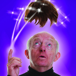 Paul Daniels: Hair Today, Gone Tomorrow. Paul Daniels. Copyright: BBC.