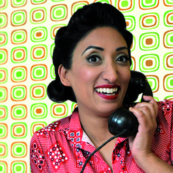 Shazia Mirza: Busybody. Shazia Mirza. Copyright: Ant N Dec Productions.