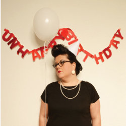 Unhappy Birthday. Amy Lamé.